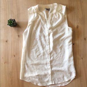 Chelsea28 gorgeous cream blouse NWOT